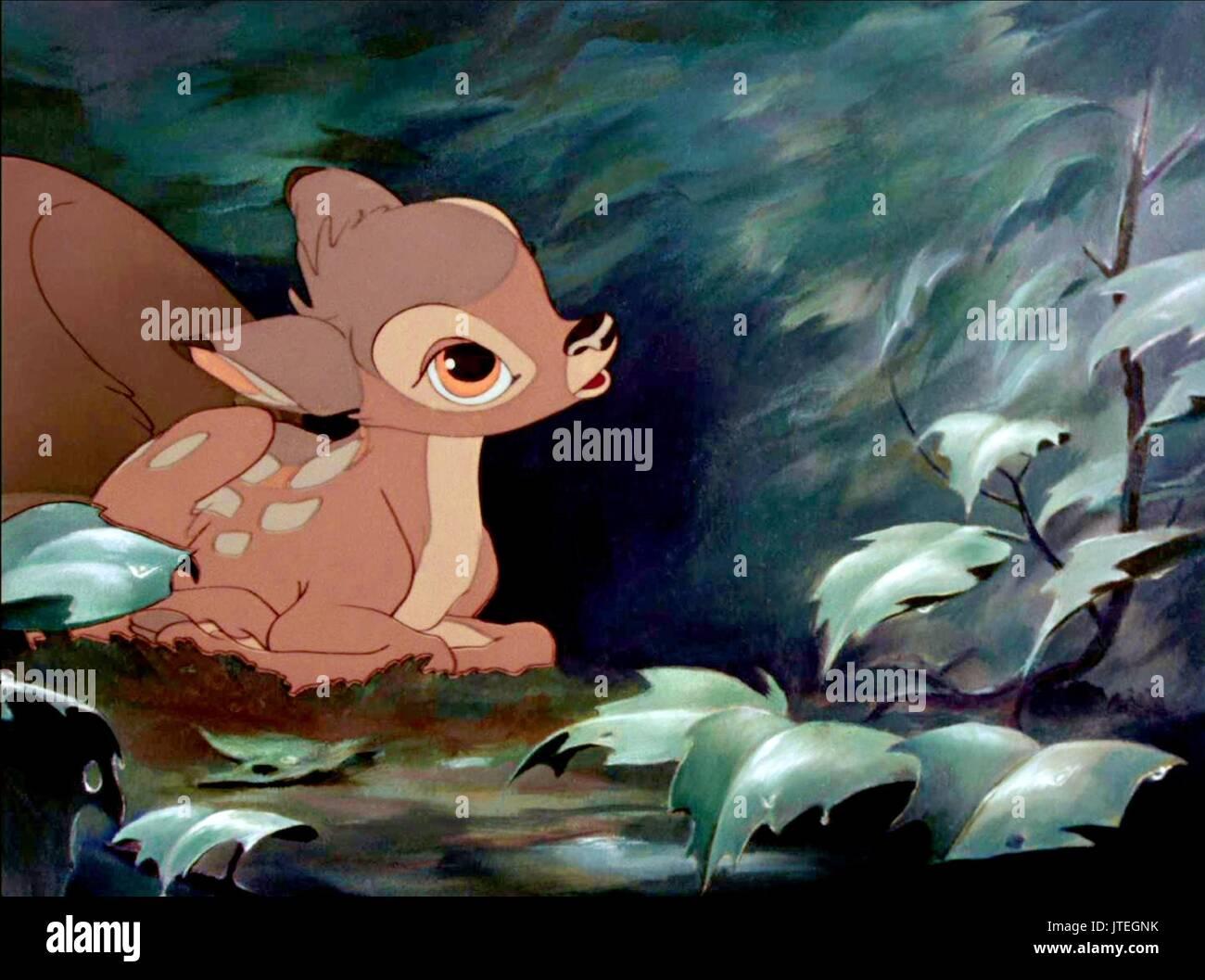 Bambi Bambi 1942 Stock Photo Alamy