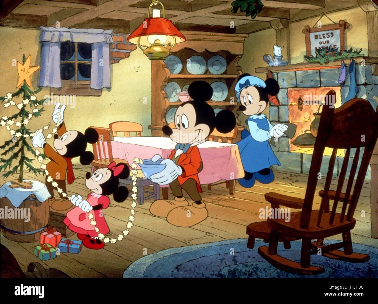 Mickeys Christmas.Mickey Mouse Minnie Mouse Mickey S Christmas Carol 1983