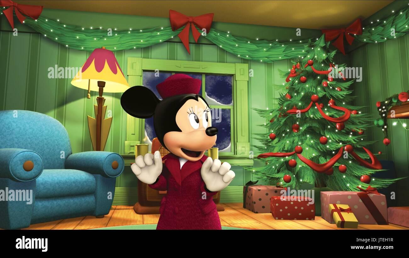 Mickeys Twice Upon A Christmas.Minnie Mouse Mickey S Twice Upon A Christmas 2004 Stock