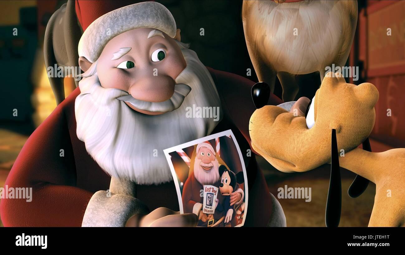 Twice Upon A Christmas.Santa Claus Pluto Mickey S Twice Upon A Christmas 2004