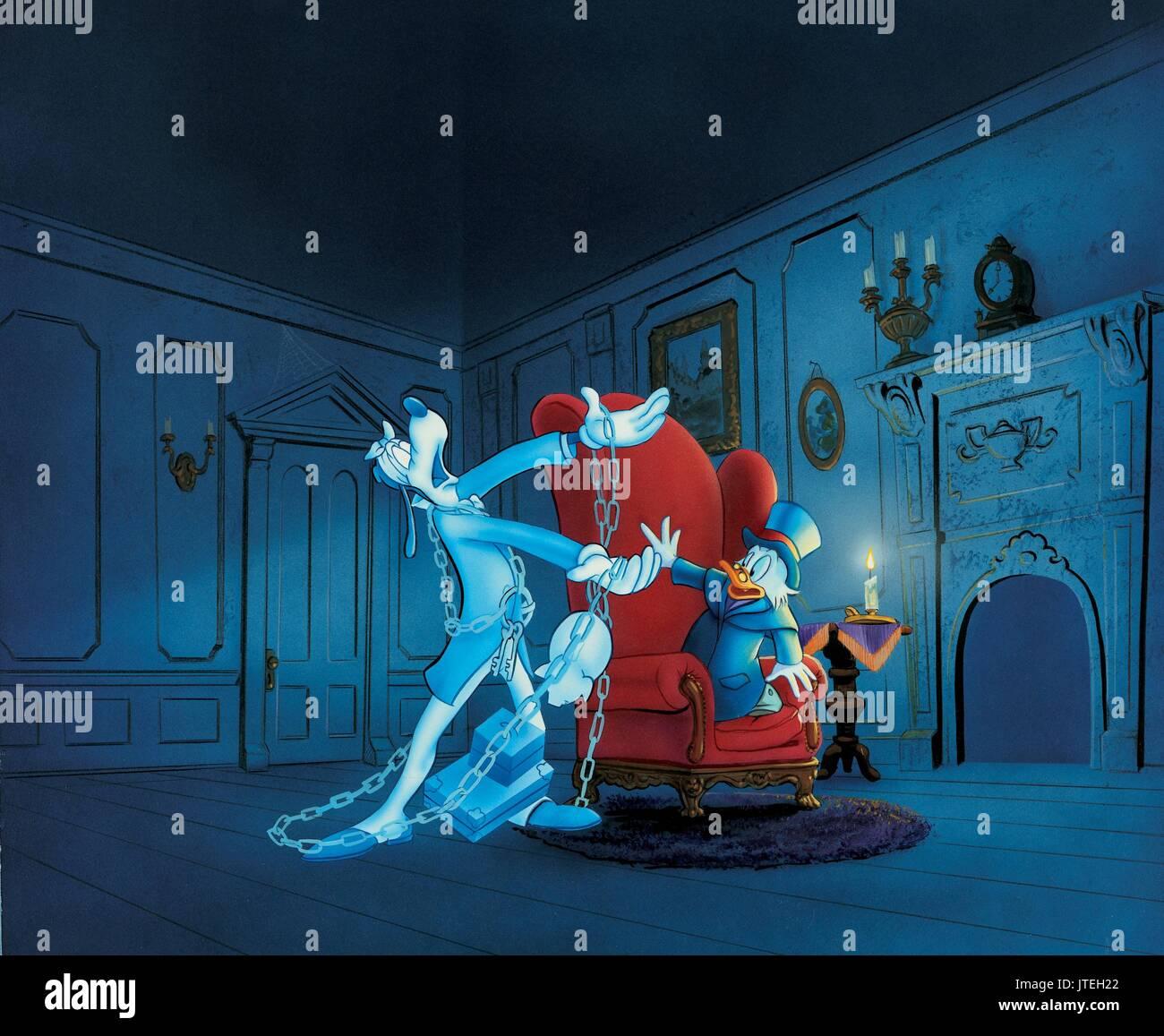 Christmas Carol Scrooge And Marley.Jacob Marley Scrooge Mcduck Mickey S Christmas Carol 1983