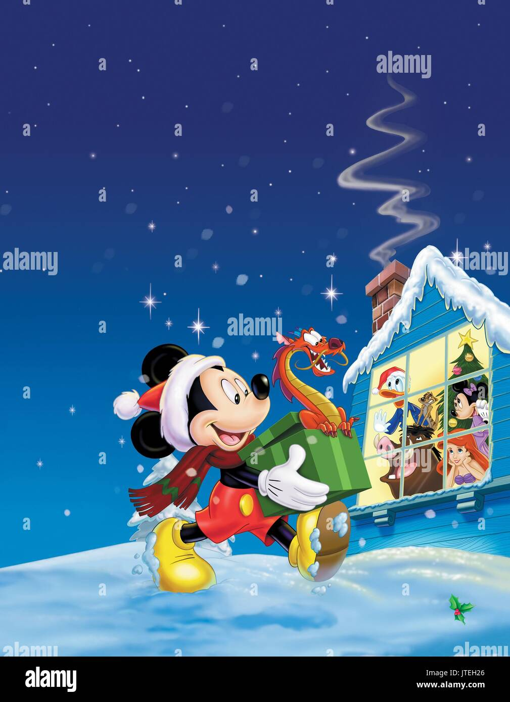 MICKEY MOUSE MICKEY'S MAGICAL CHRISTMAS: SNOWED IN AT THE HOUSE OF MOUSE (2001) - Stock Image