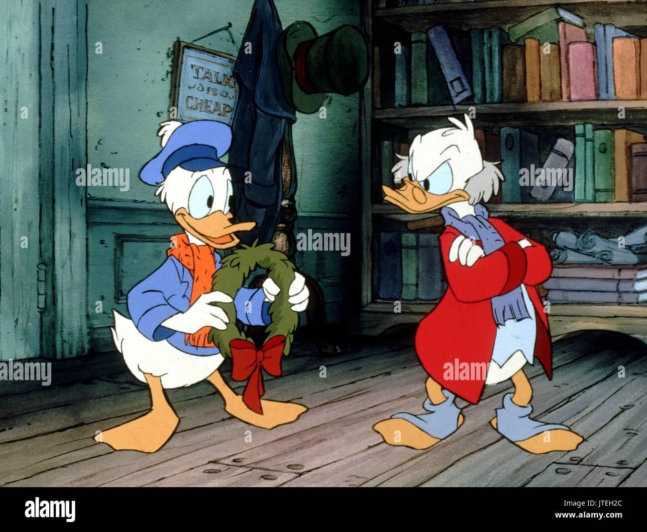 Christmas Carol Scrooge Mcduck.Nephew Fred Scrooge Mcduck Mickey S Christmas Carol 1983