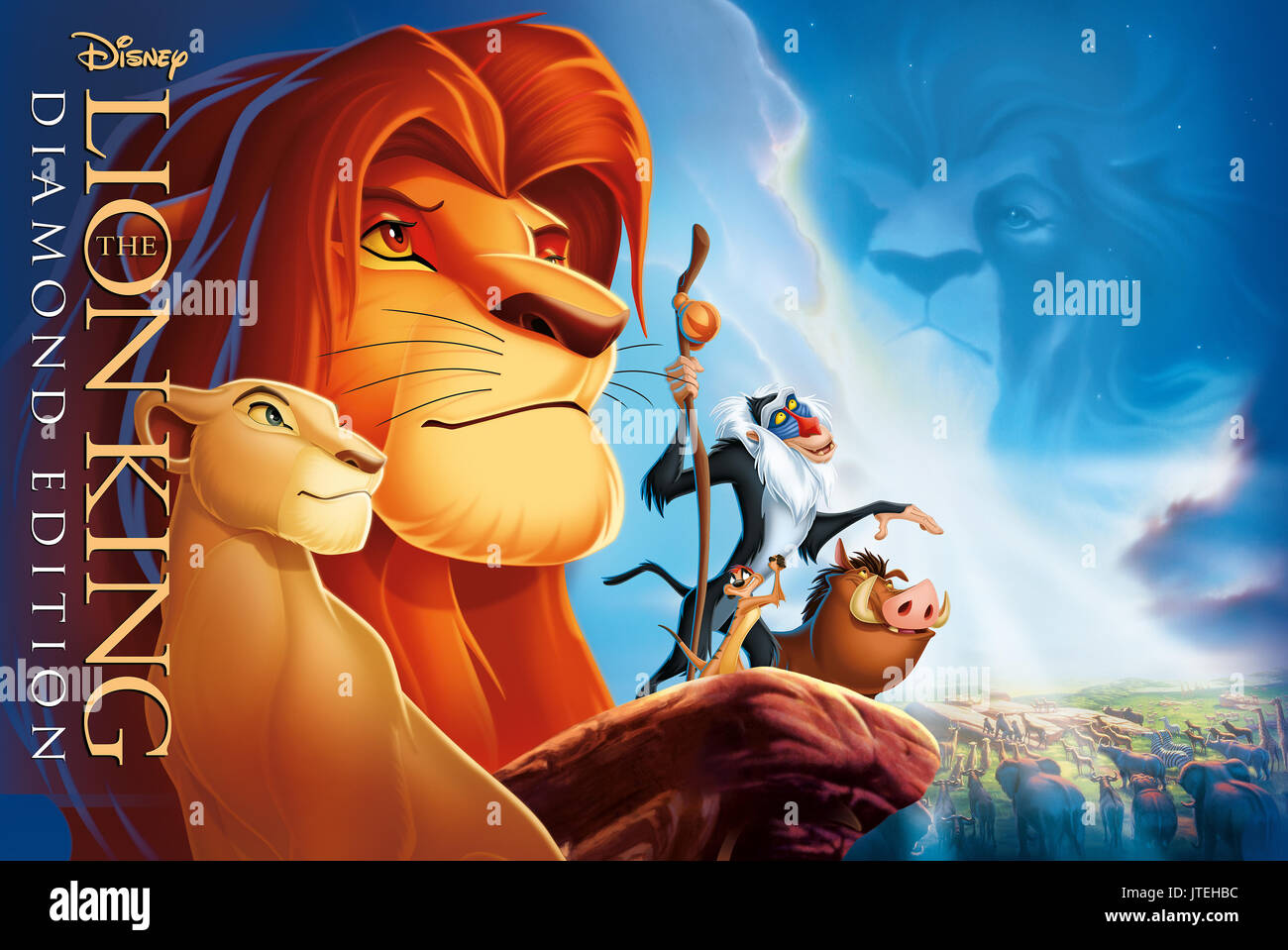 Lion King Poster High Resolution Stock Photography And Images Alamy