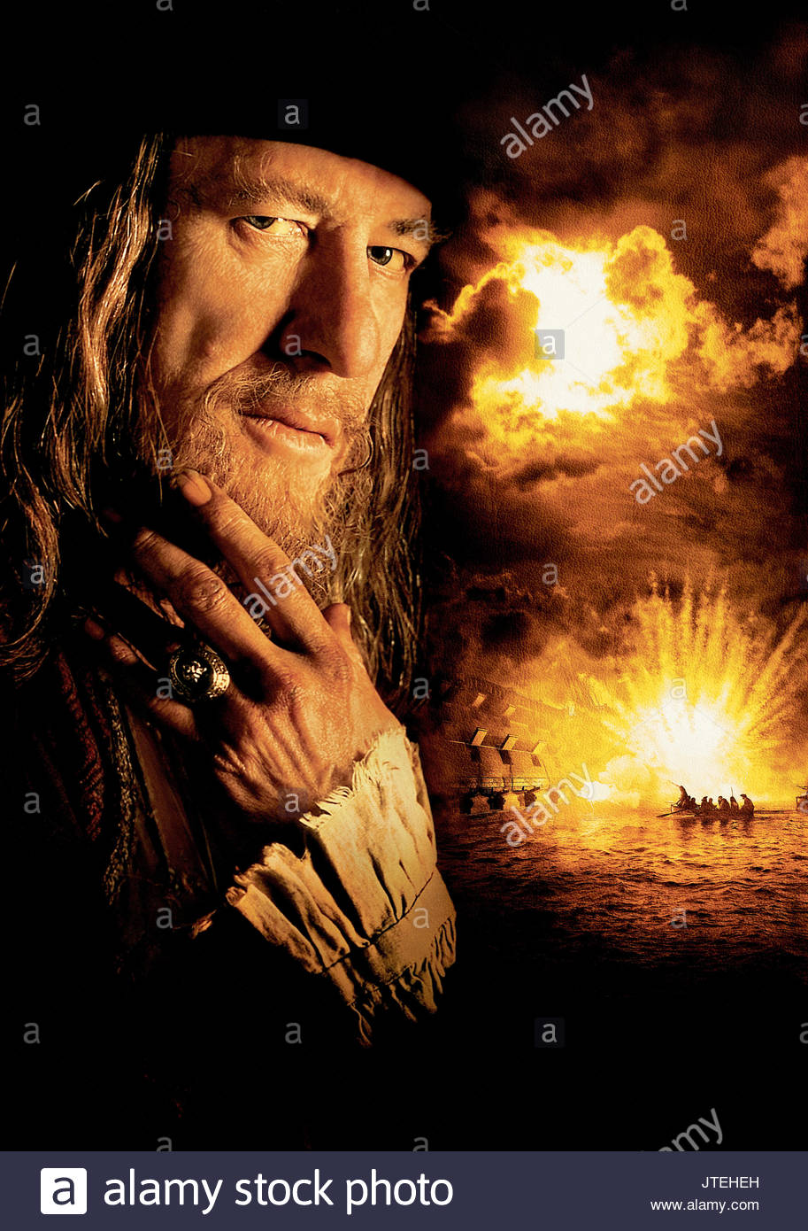 Geoffrey Rush Pirates Of The Caribbean The Curse Of The Black Pearl Stock Photo Alamy
