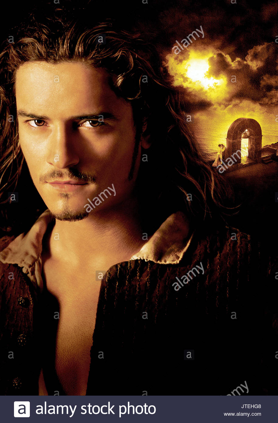Orlando Bloom Pirates Of The Caribbean The Curse Of The Black Pearl Stock Photo Alamy