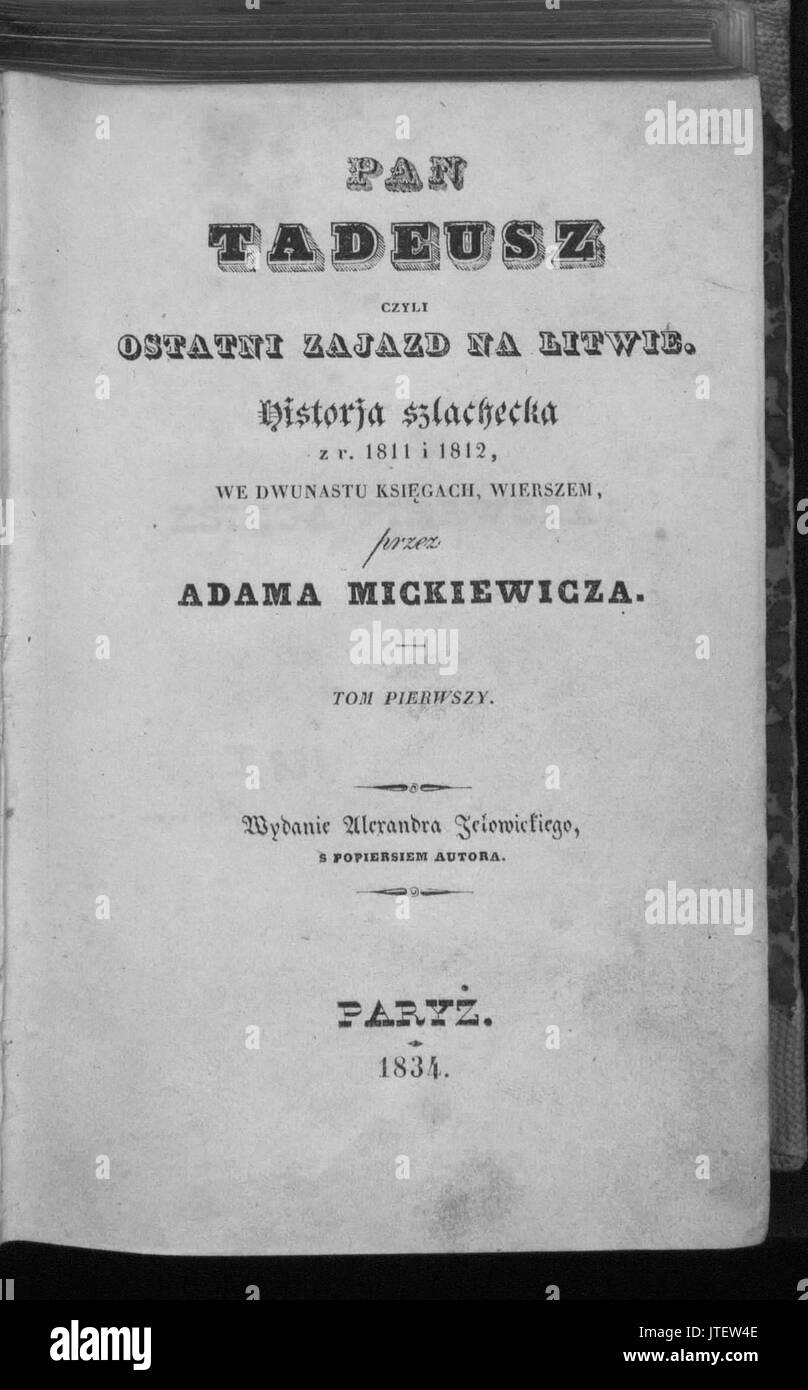 Mickiewicz Black And White Stock Photos Images Page 3