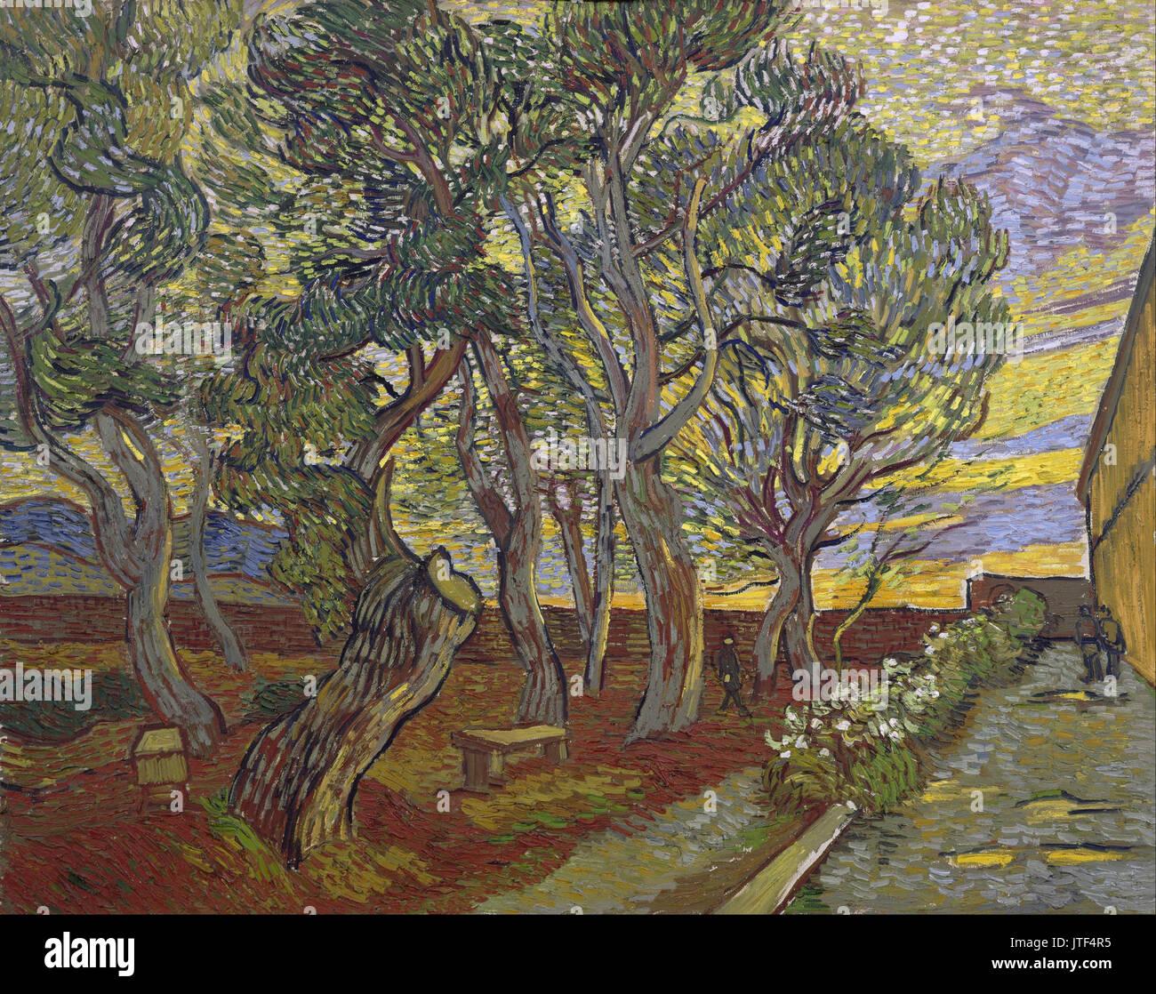 Gogh Garden Painting Stock Photos & Gogh Garden Painting Stock ...