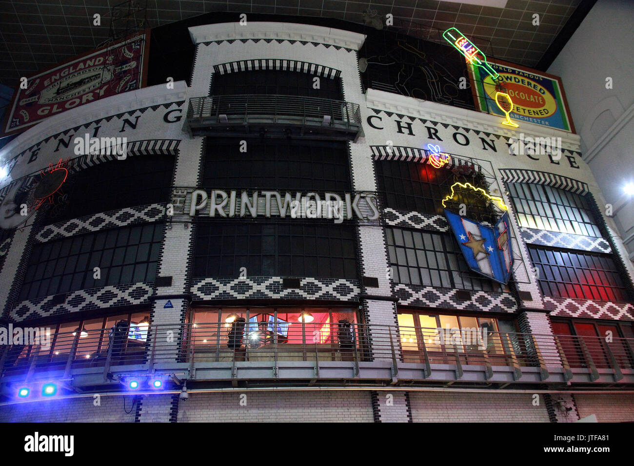 Manchester Printworks Stock Photo