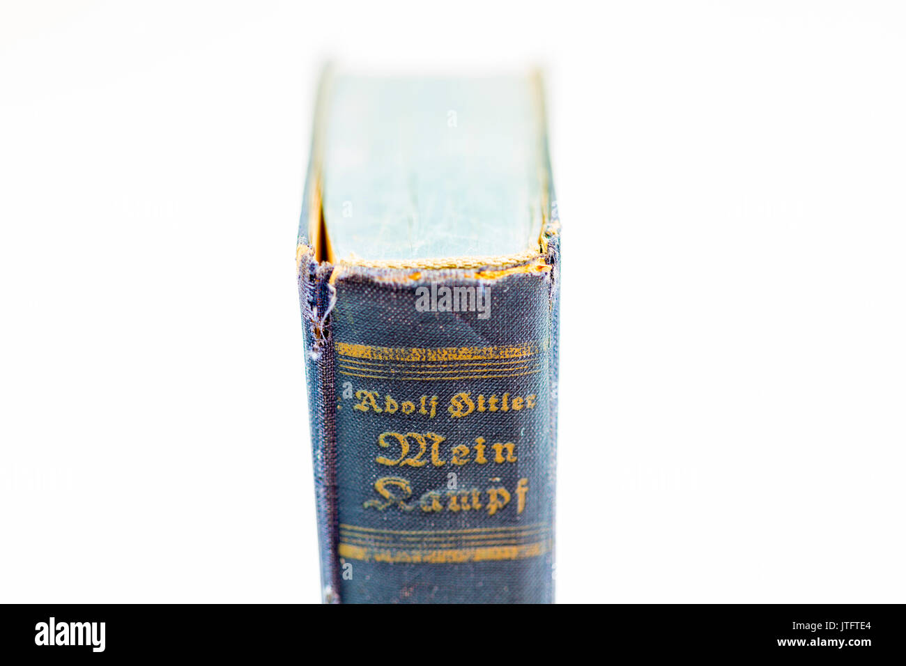 1943 german edition of Mein Kampf by Adolf Hitler - Stock Image