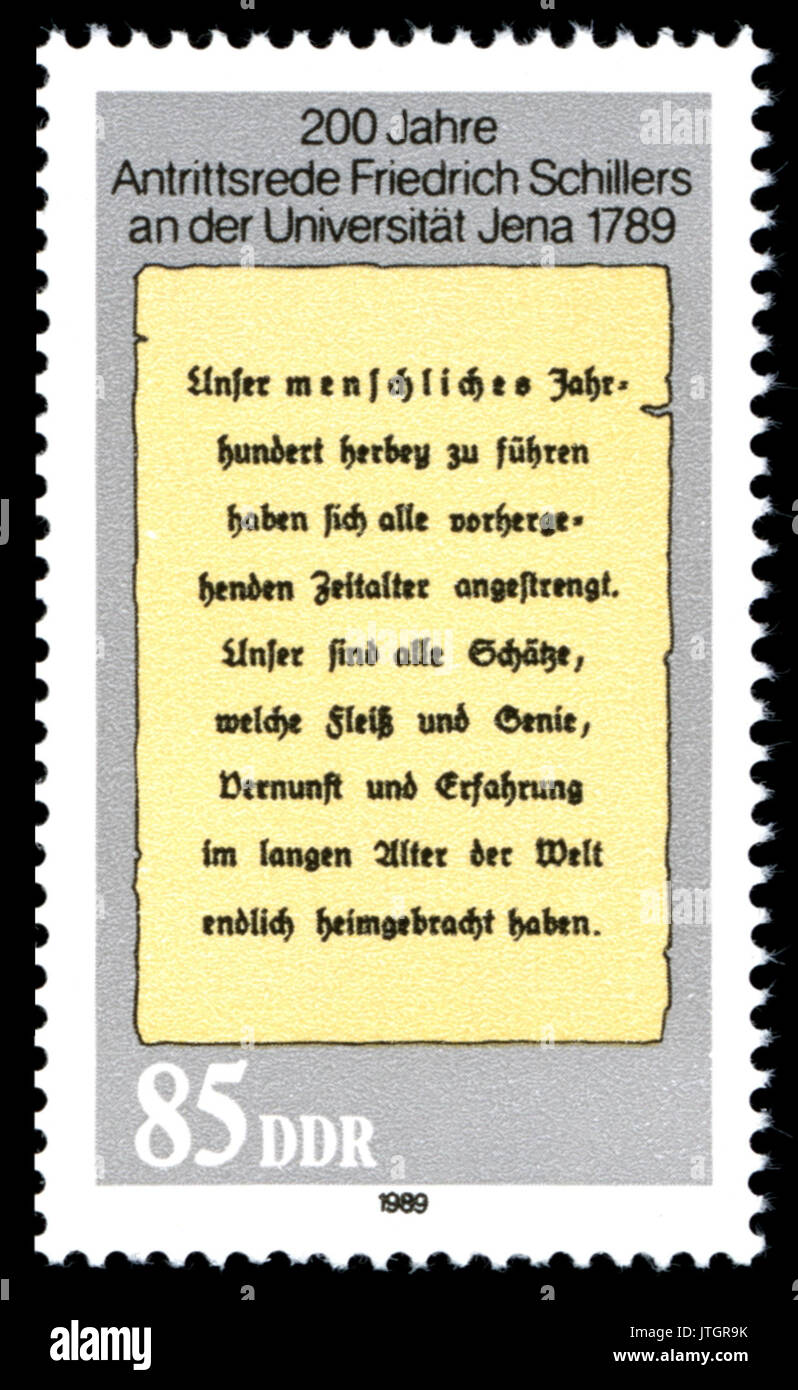 Stamps of Germany (DDR) 1989, MiNr 3255 - Stock Image