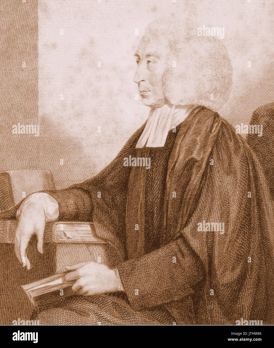 Thomas Randolph, President of Corpus Christi College, Archdeacon of Oxford - Stock Image
