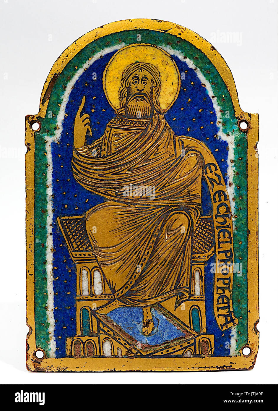 Prophet Ezekiel - Stock Image