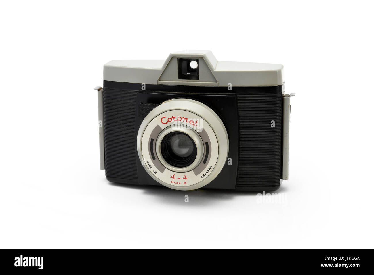 Vintage Coronet plastic film camera, A Diana Camera clone made in England - Stock Image