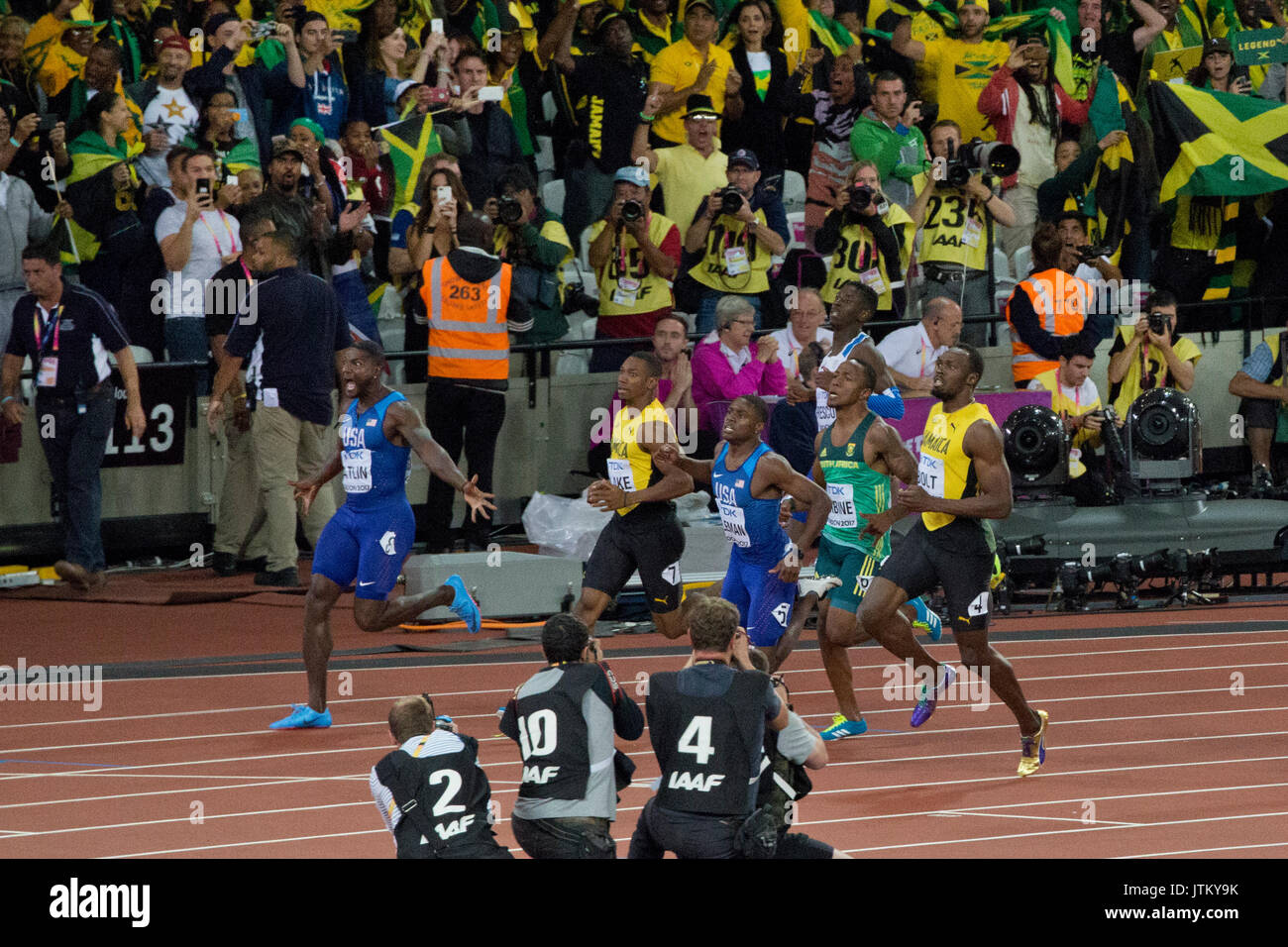 IAAF world athletic Championships, London stadium 2017 - Stock Image
