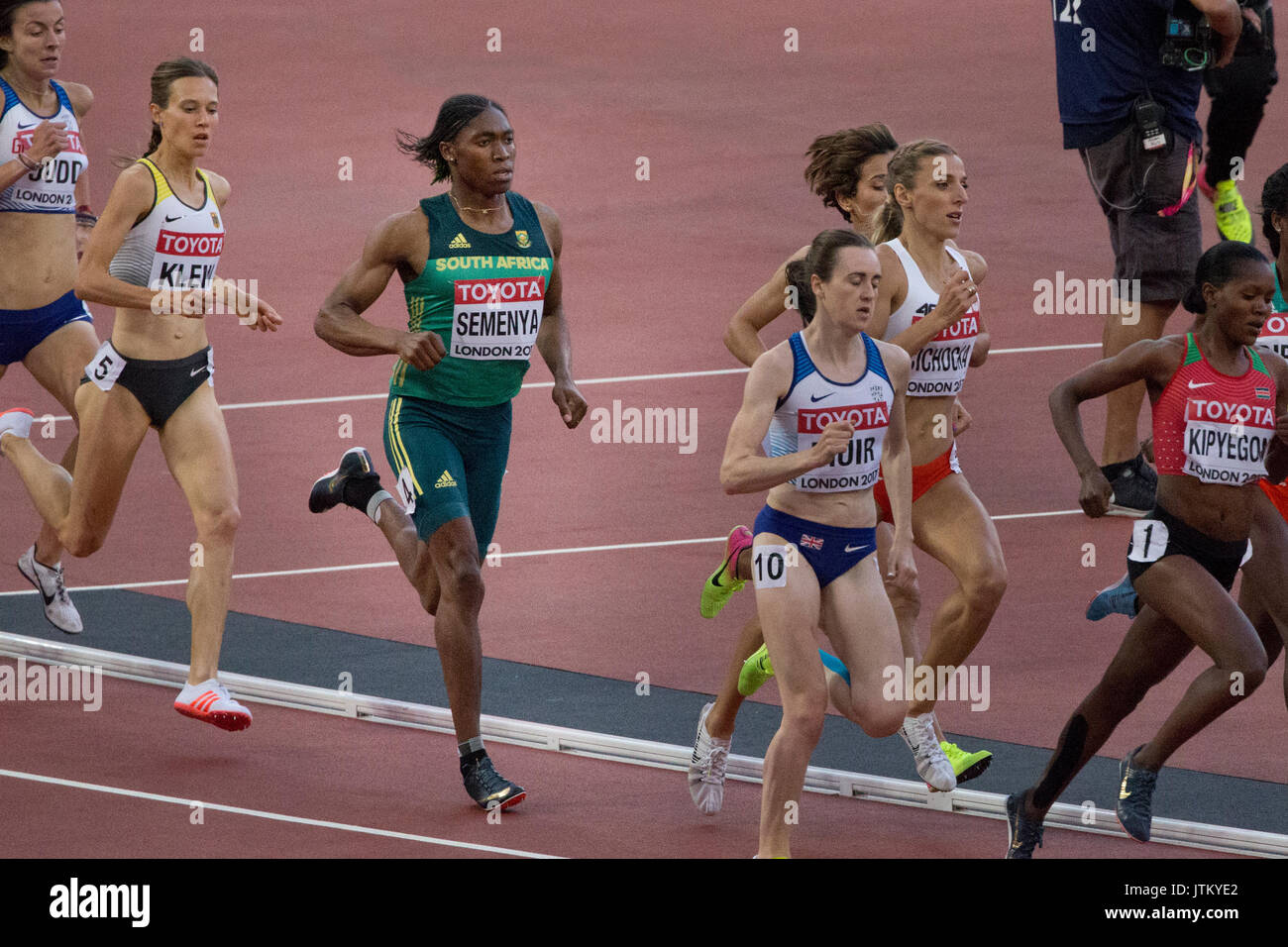 IAAF world athletic Championships, London stadium 2017 - Stock Image