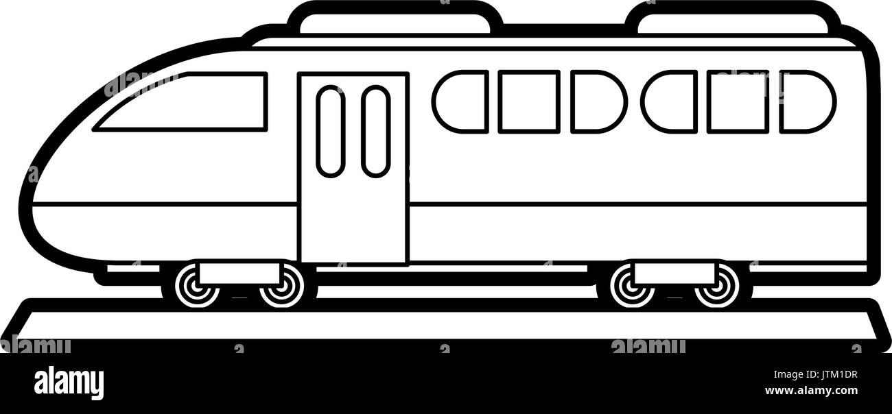 train vector illustration - Stock Vector