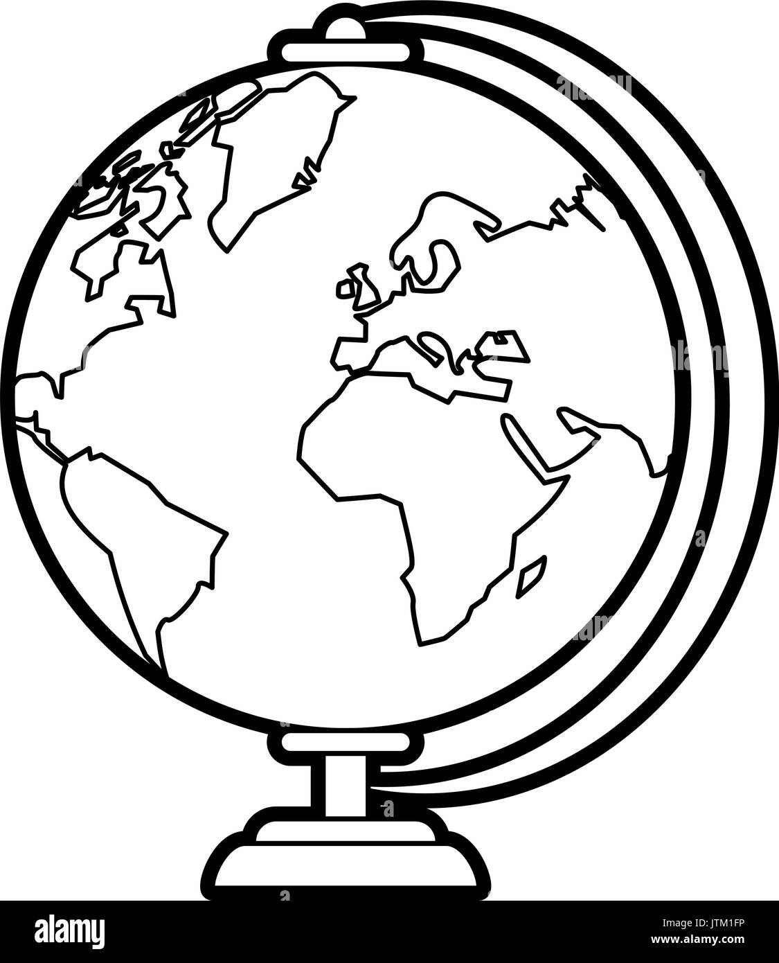 globe vector illustration - Stock Vector
