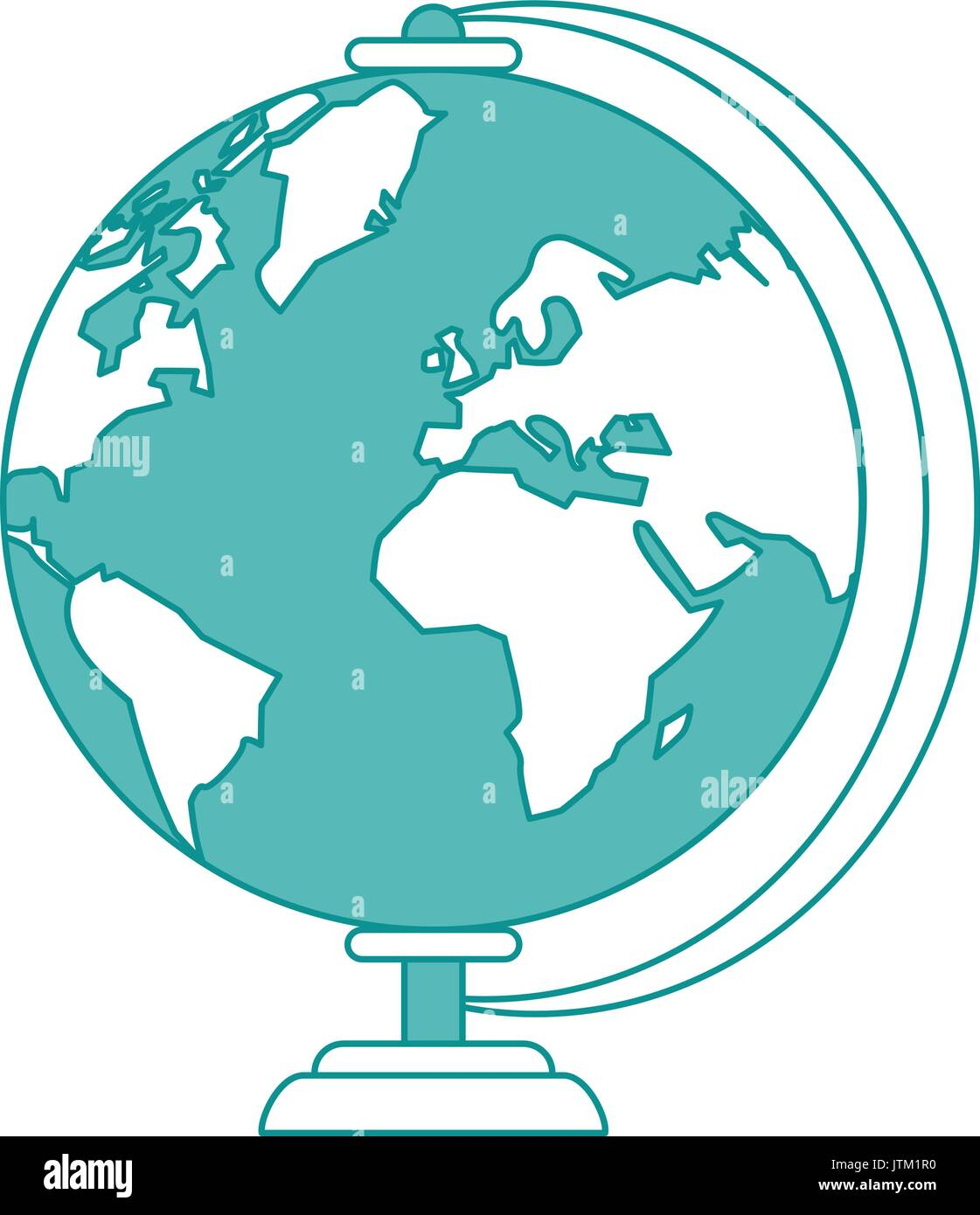 globe vector illustration - Stock Vector