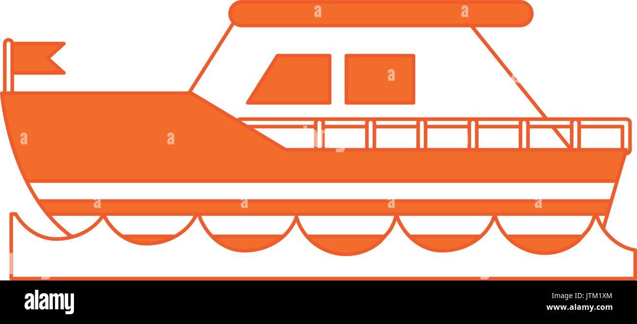ship vector illustration - Stock Vector