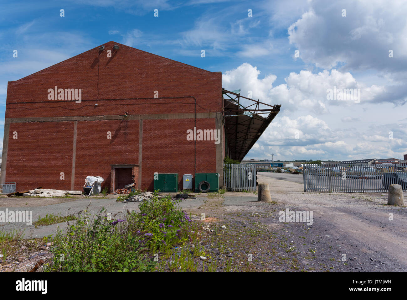 Bramley Moore Dock Liverpool Location Of New Everton Fc Stadium Stock Photo Alamy