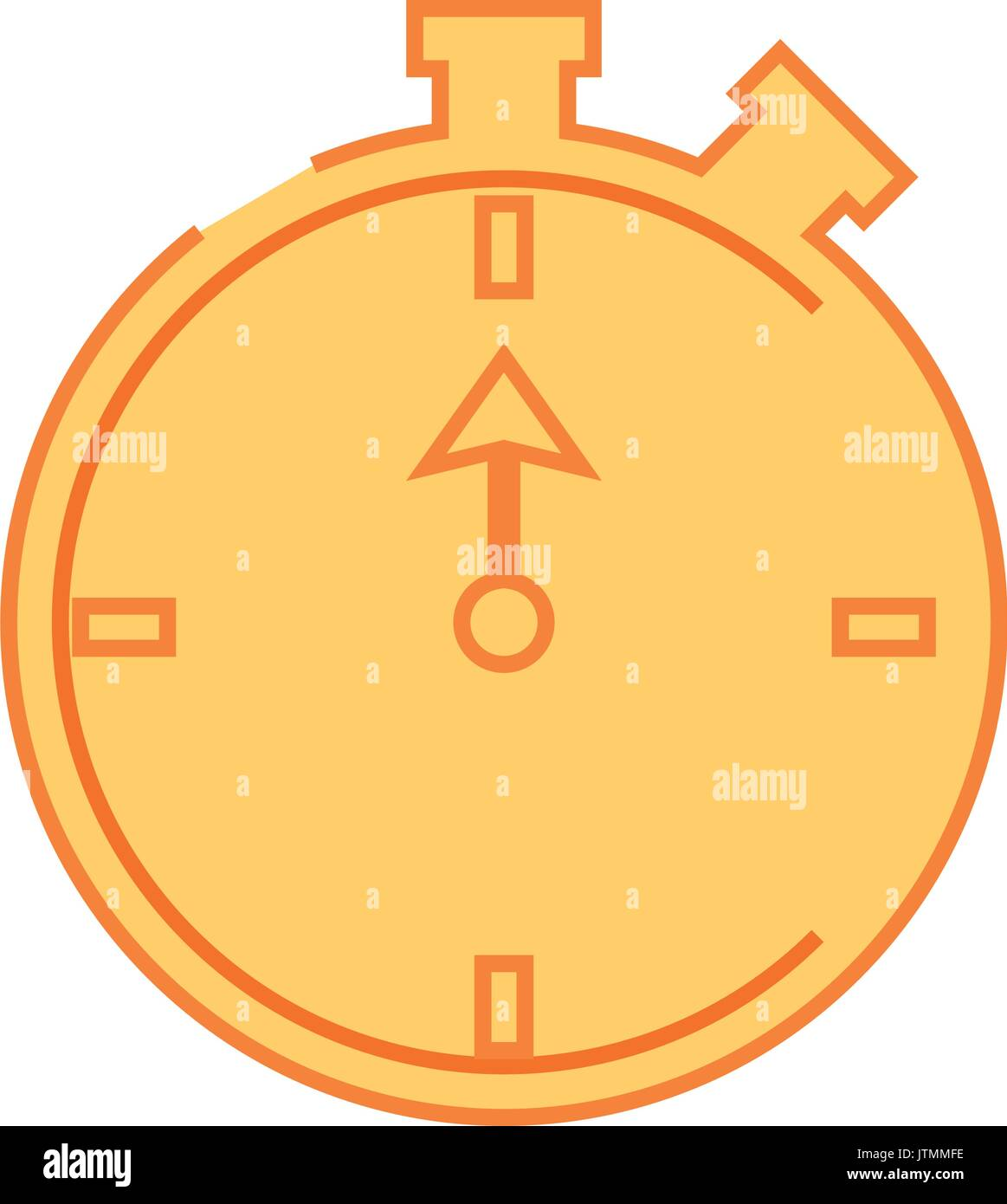 Sport timer chronometer - Stock Image