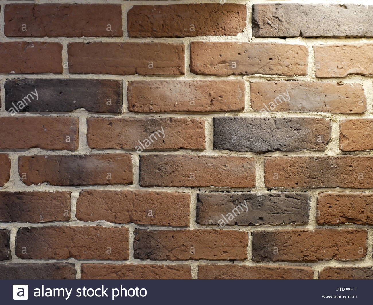 Brick wall with lightning Stock Photo: 152893828 - Alamy
