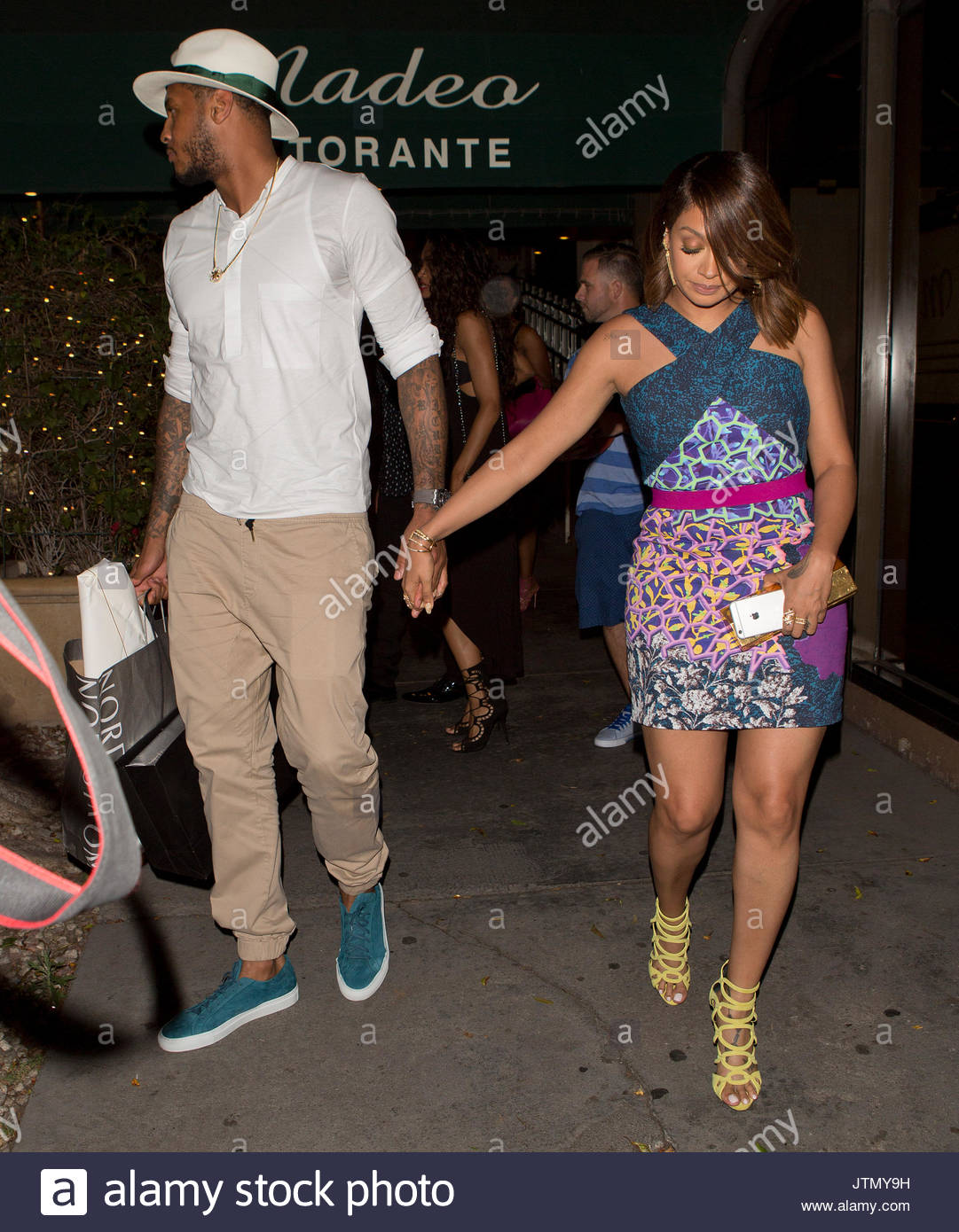 Carmelo Anthony and Lala Vasquez. Kelly Rowland and her ...