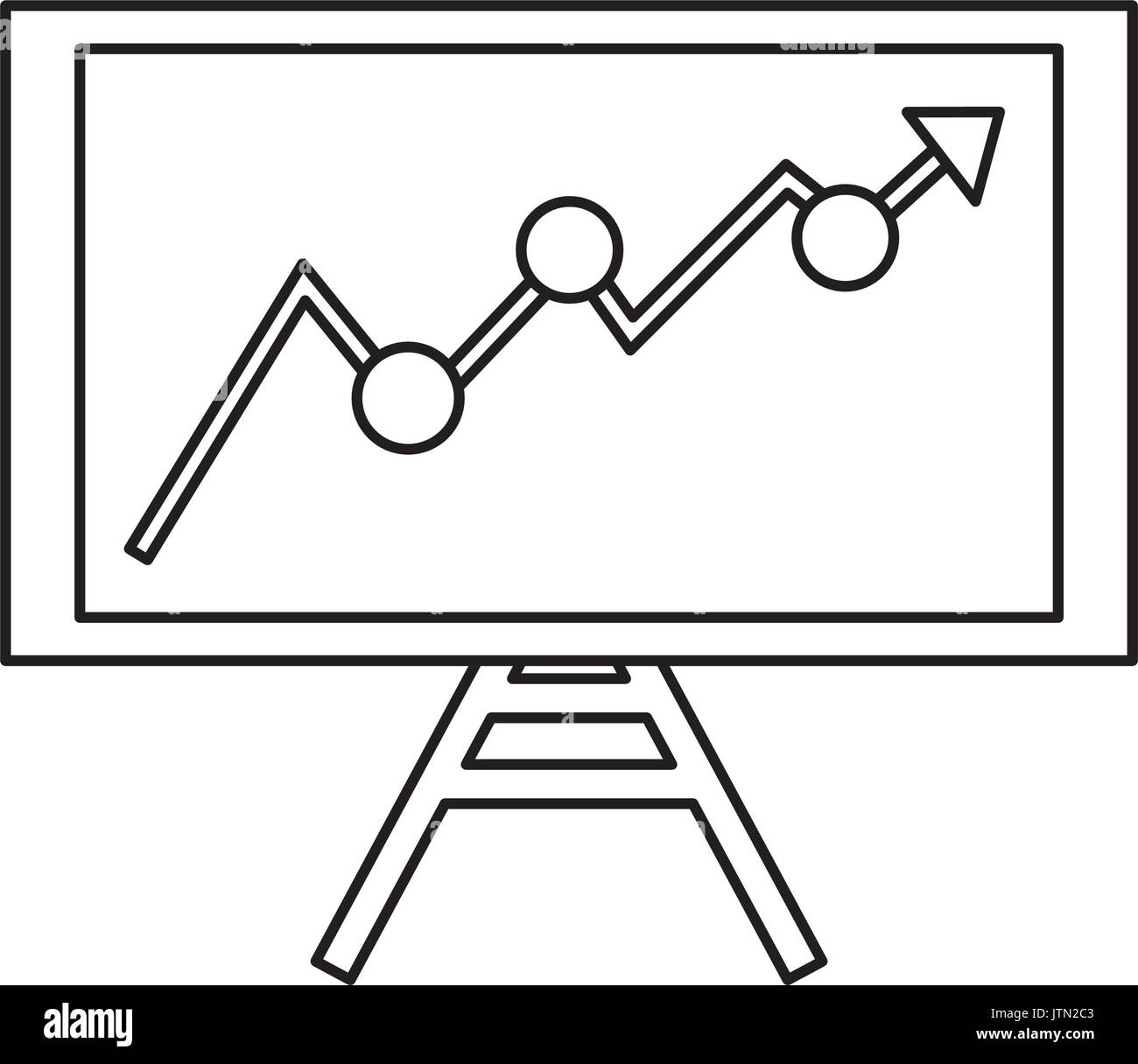 Graphic stats design - Stock Image