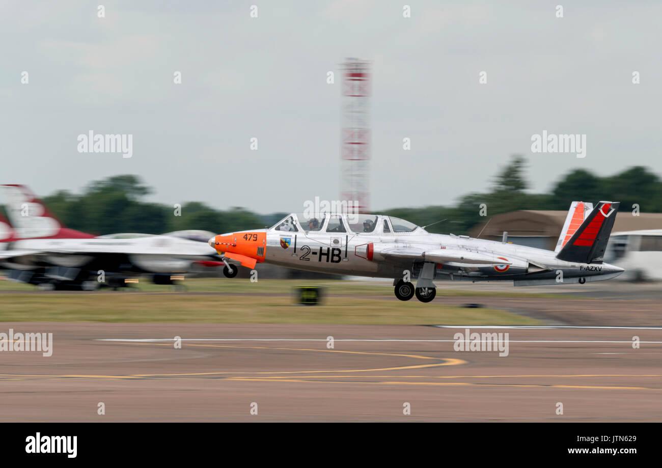Fouga CM 170 Magister - Stock Image