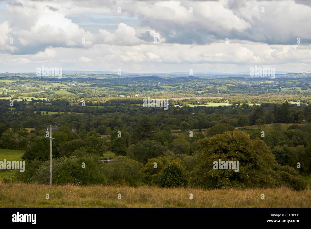 county fermanagh countryside near the irish border northern ireland - Stock Image