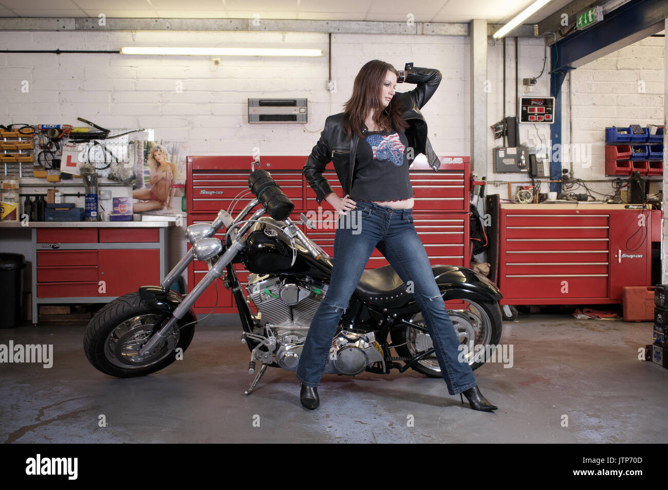 Are not Custom chopper motorcycles and girls