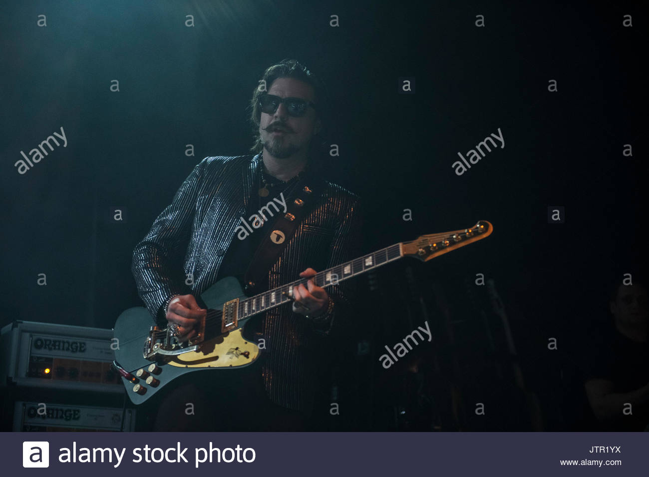 RIVAL SONS LIVE ON STAGE IN MILAN ON FEBRUARY 14, 2017 - Stock Image