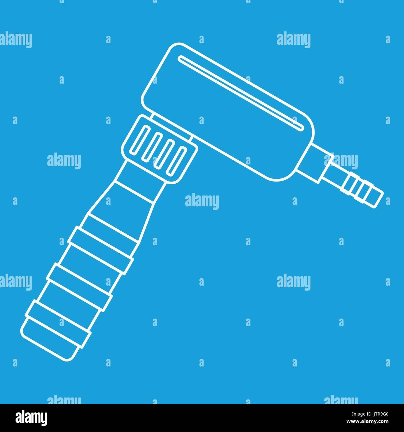 Rotary Tattoo Machine Stock Photos Diagram Hand Draw Icon Outline Image