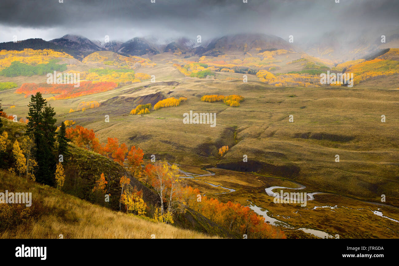 Crested Butte, CO - Stock Image