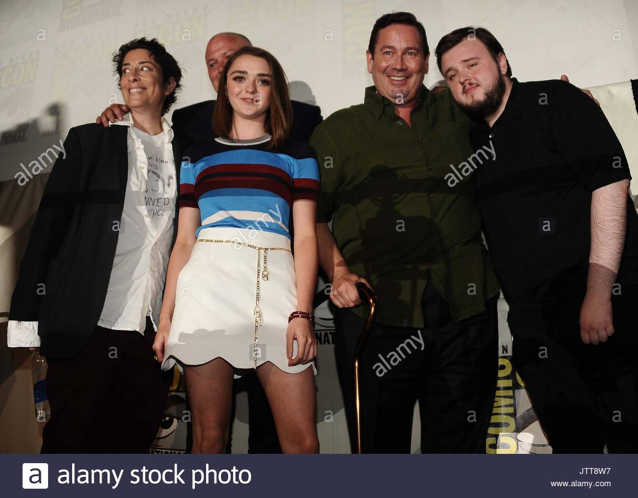 Carolyn Strauss, Conleth Hill, Maisie Williams, David Nutter and John  Bradley. Natalie Dormer and her fellow Game of Thrones cast members signs  autographs ... 226441ffd5