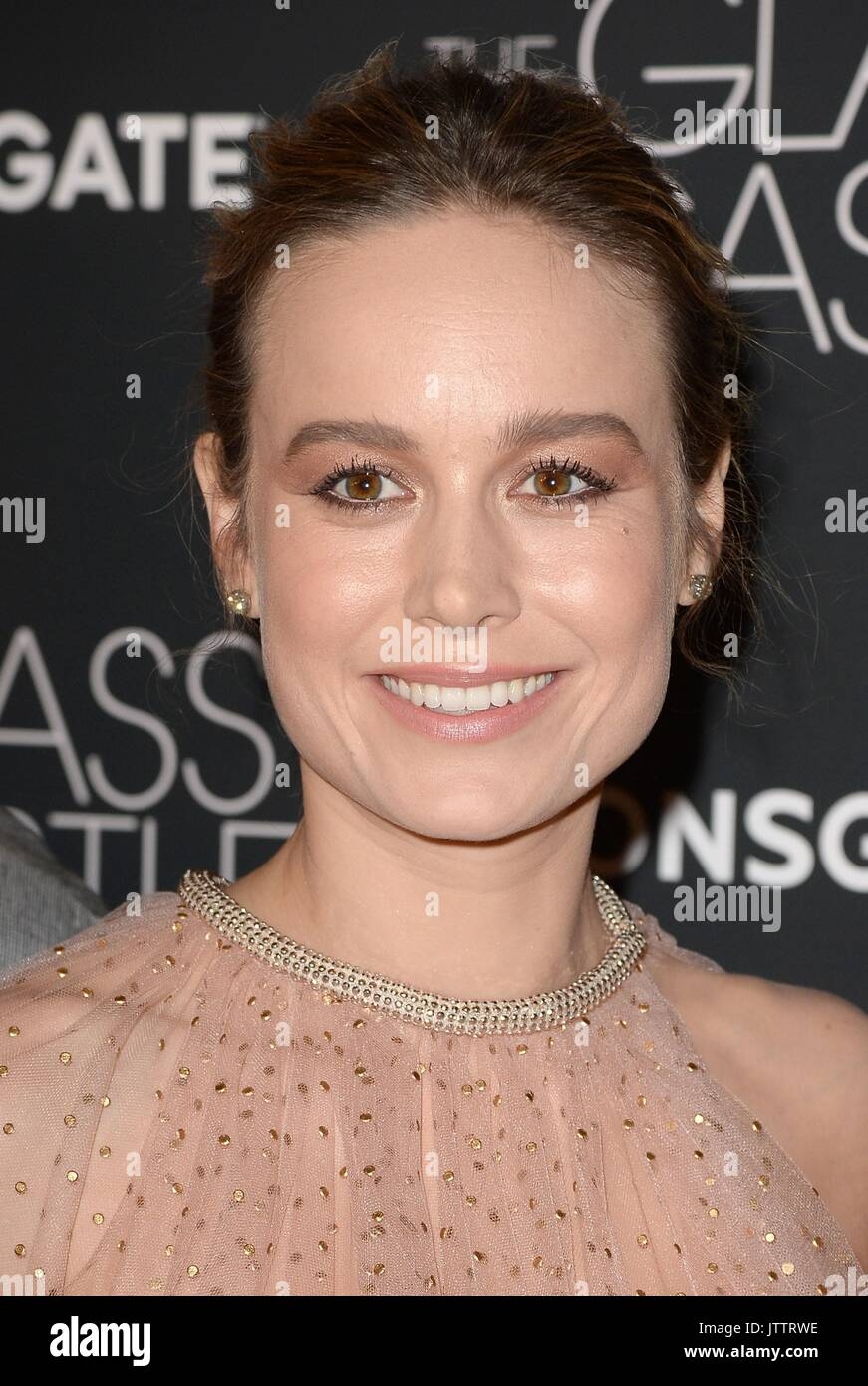 New York, NY, USA  9th Aug, 2017  Brie Larson at arrivals