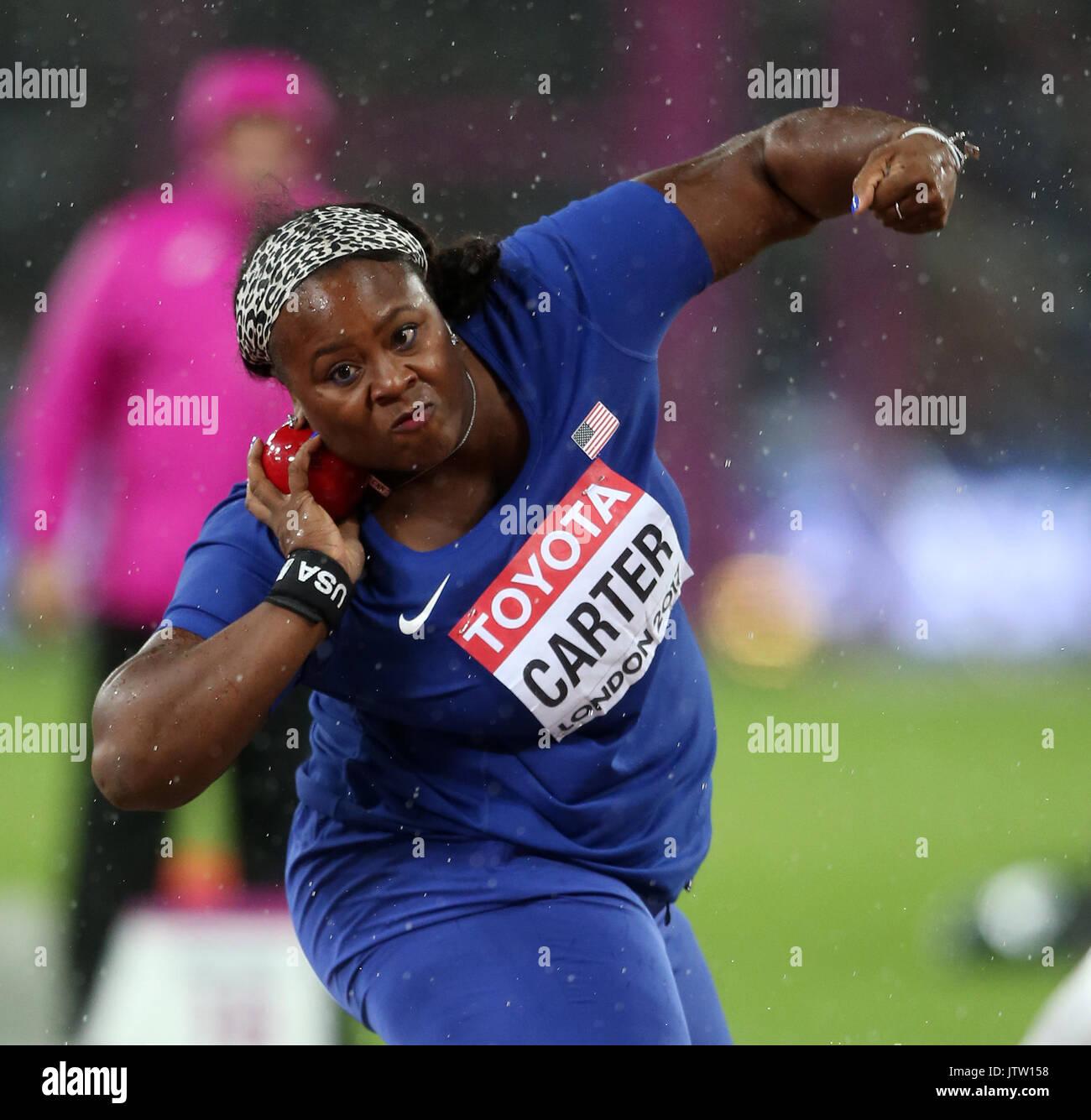 Michelle Carter Athlete >> Michelle Carter Shot Put World Athletics Championships 2017
