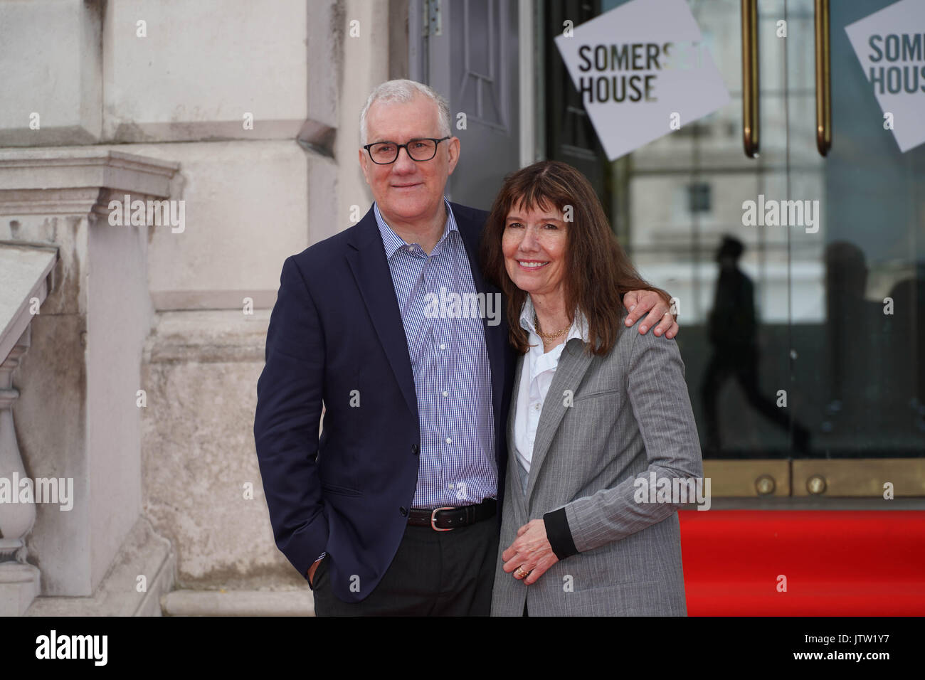 London, UK. 10th August, 2017. David Linda and Diane Weyermann, the producers of An Inconvenient Sequel Truth To Stock Photo