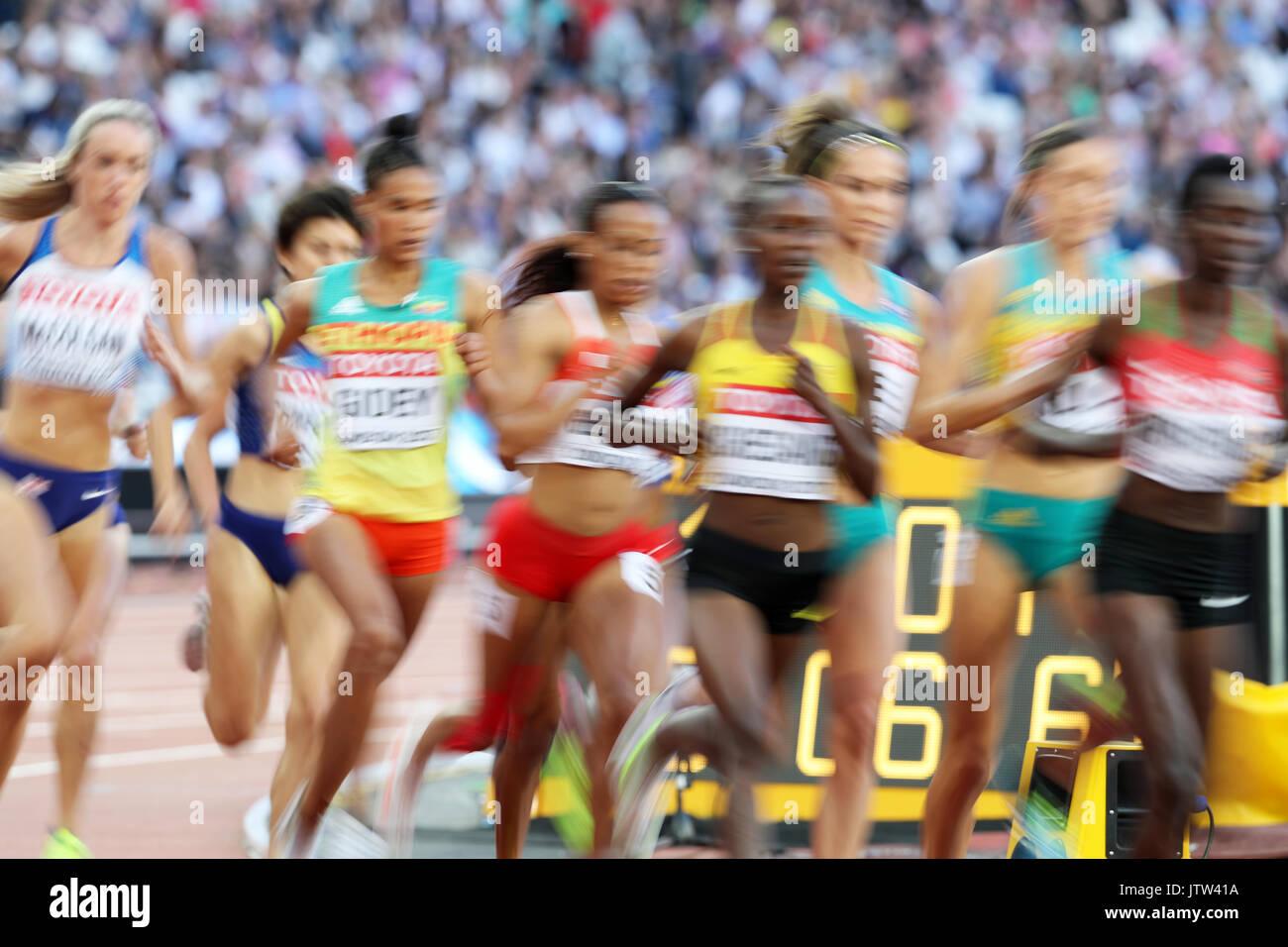 London, UK. 10th Aug, 2017. IAAF World Championships, Queen Elizabeth Olympic Park, Stratford, London, UK. Credit: Stock Photo