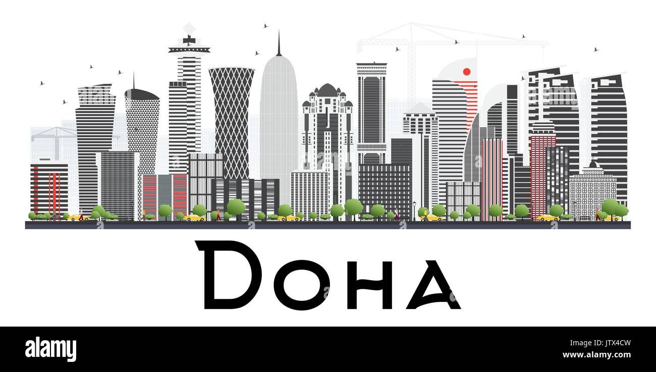 Doha Cut Out Stock Images & Pictures - Alamy