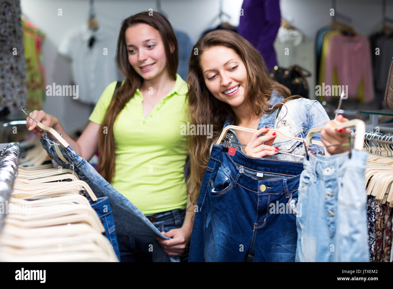 Jeans Centre Clothing Shop In Stock Photos Jeans Centre Clothing