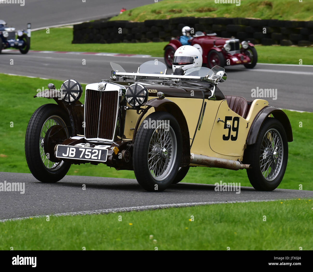 Andy King, MG PB Cream Cracker, MMM MG Register with Austin Stock ...