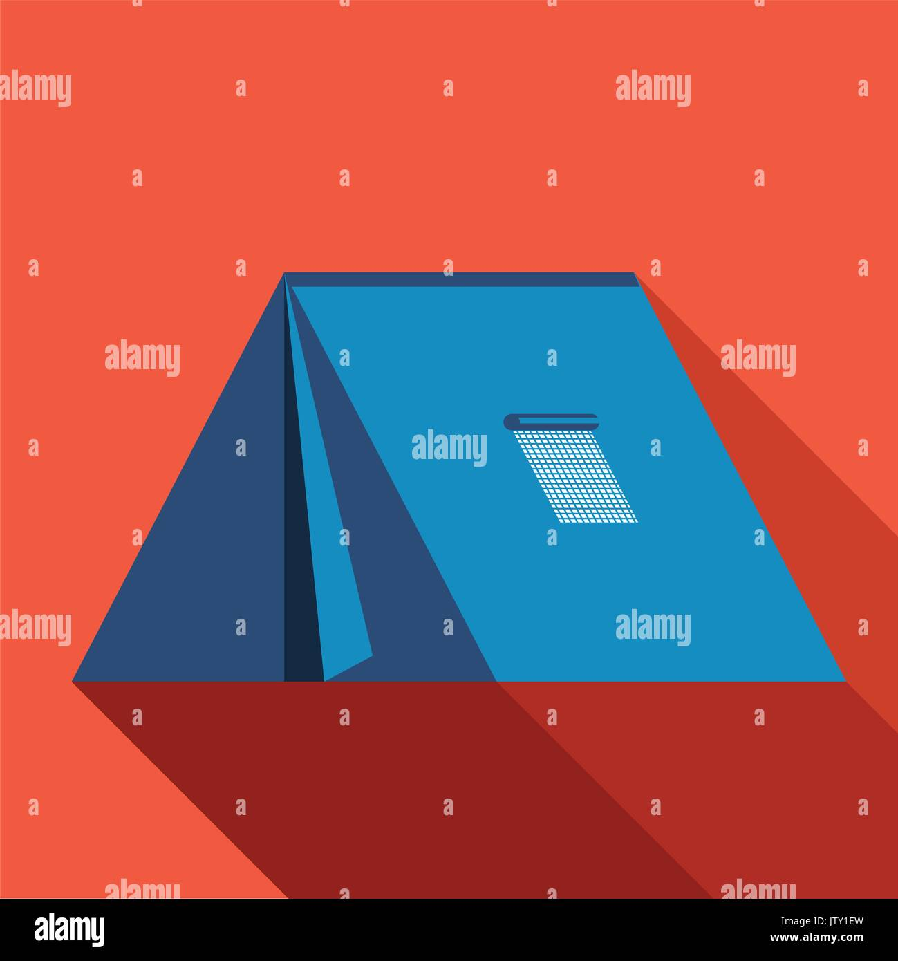 Tent icon. If you are looking for some resource about the travel. This would be most effective choice for your time saving. - Stock Vector