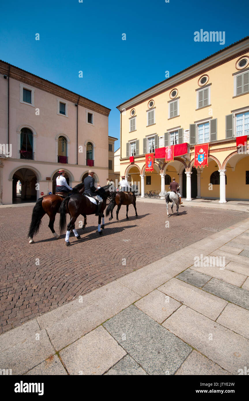 Italy, Lombardy, Crema, Horse Show - Stock Image