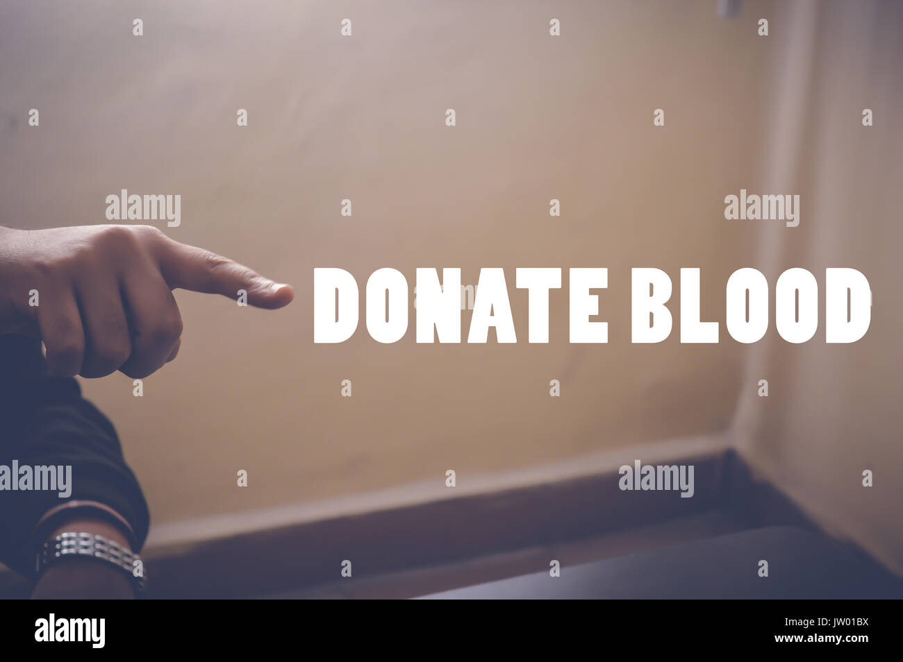 donate blood, health concept background - Stock Image