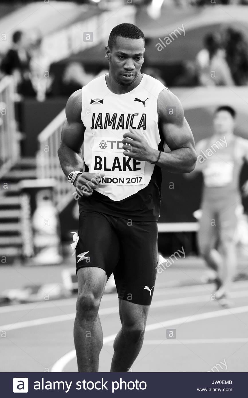 London, UK. 05 Aug, 2017. YOHAN BLAKE – IAAF World Championships London 2017. - Stock Image
