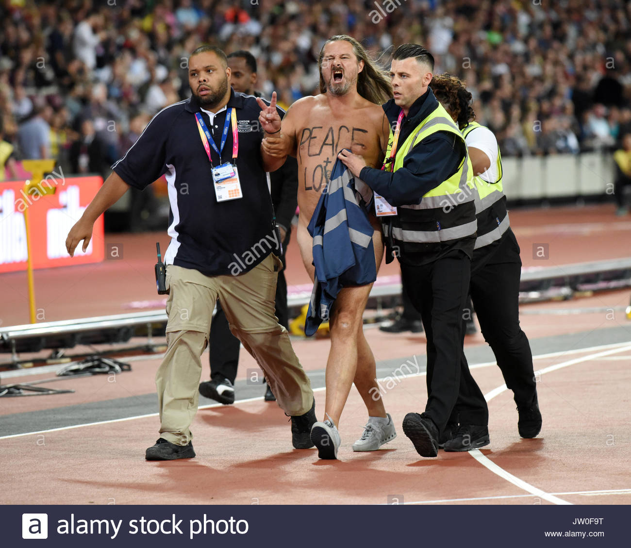 London, UK. 05 Aug, 2017. IAAF World Championships London 2017. - Stock Image