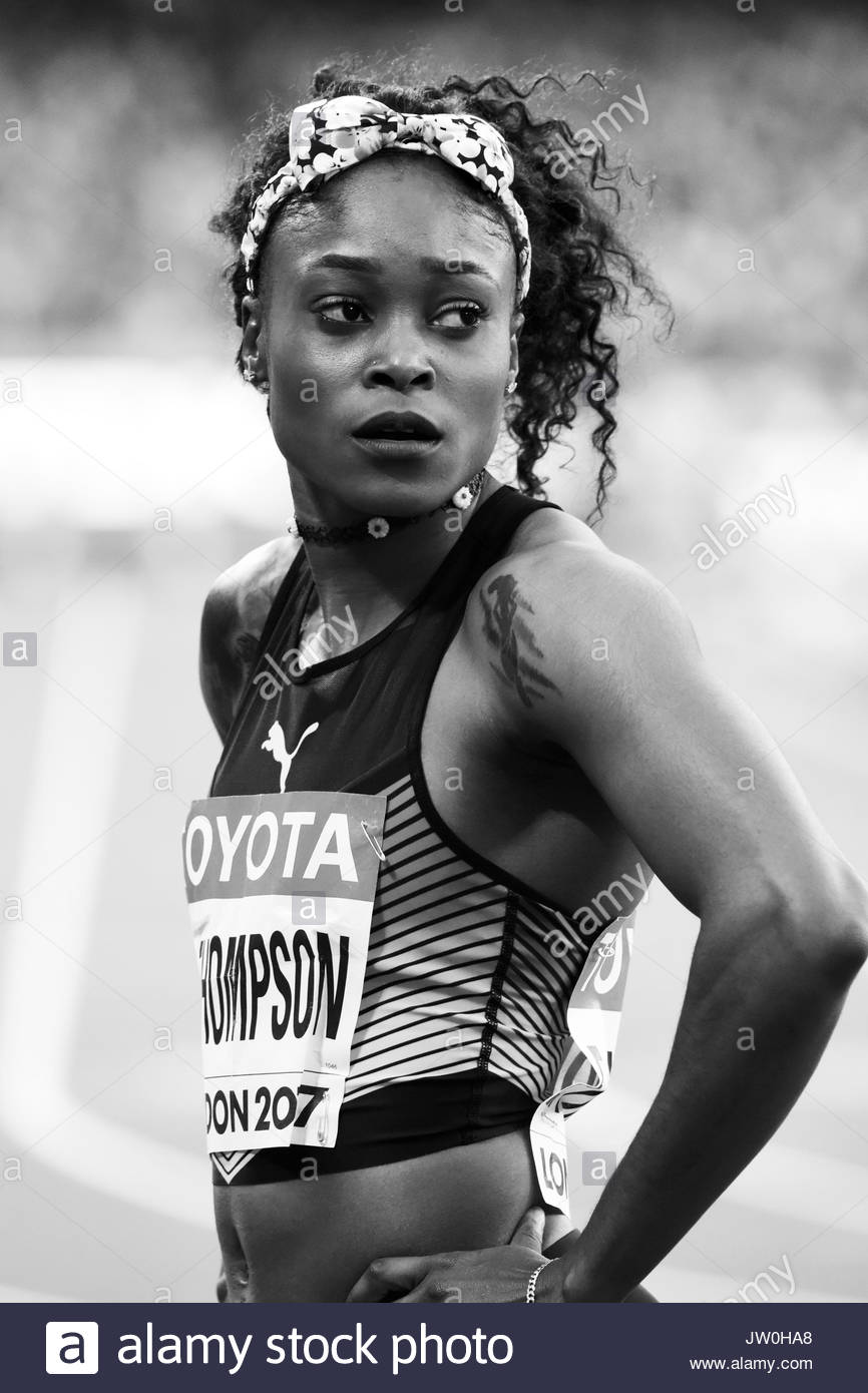 London, UK. 06 Aug, 2017. ELAINE THOMPSON – IAAF World Championships London 2017. - Stock Image