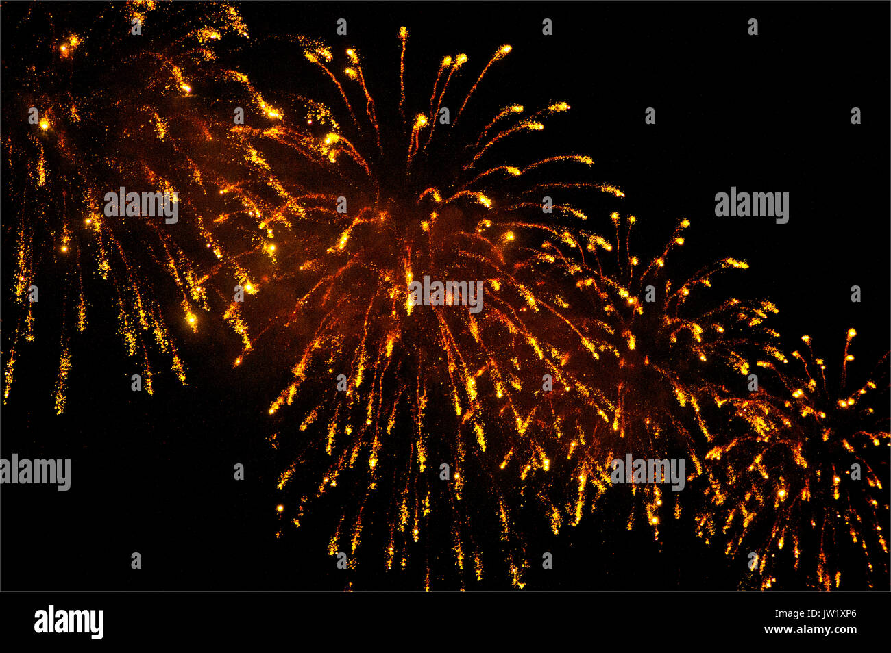 fireworks display - Stock Image